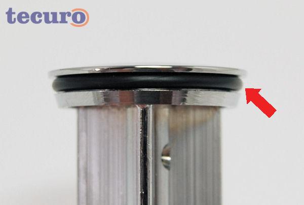 Ersatzdichtung - O-Ring zu Exzenterstopfen Ø 40 mm tecuro