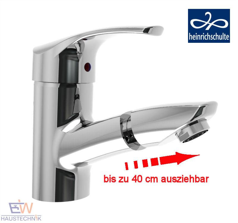 heinrichschulte ascona_1 Einhebel Waschtischarmatur mit herausziehbarem Kopf