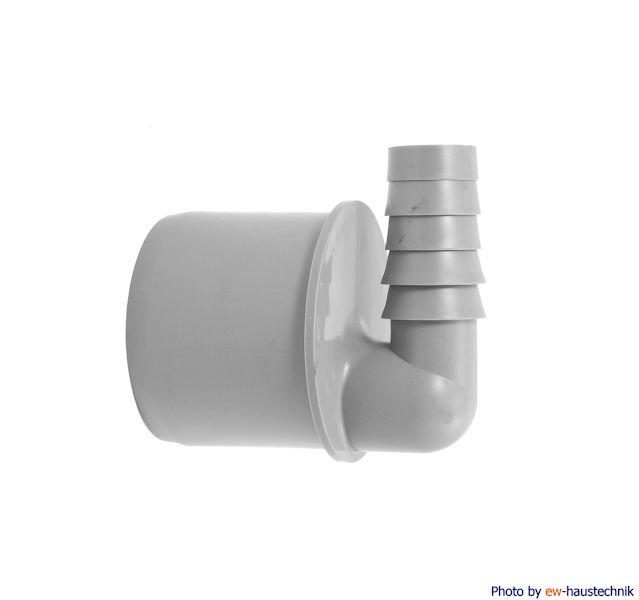 Airfit Schlauchnippel, 90° gewinkelt DN 50 für Schlauch von Ø 19 bis 21 mm